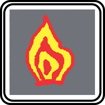 small fire